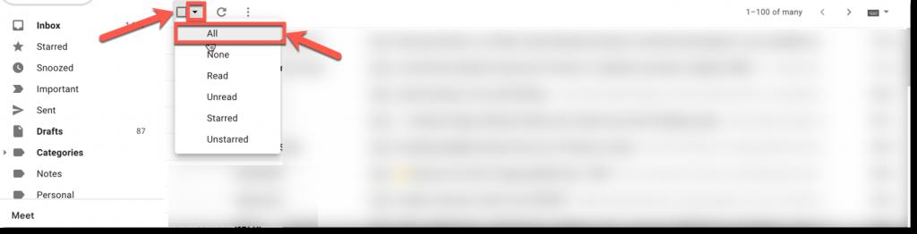 Mark an Entire Gmail Inbox as Read