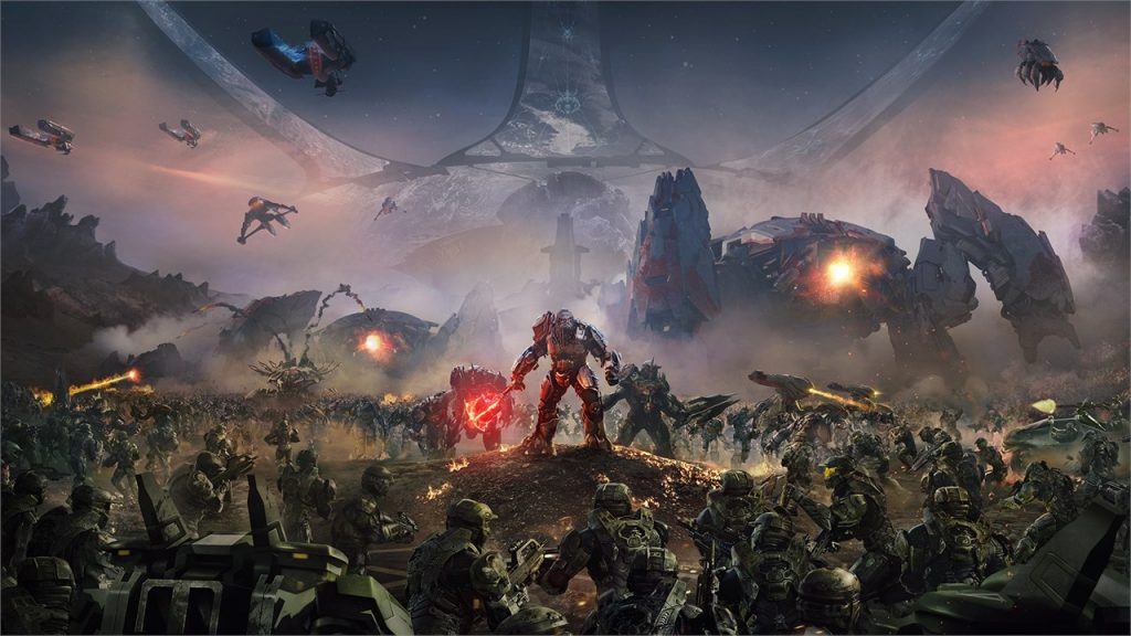 chronological order of halo games